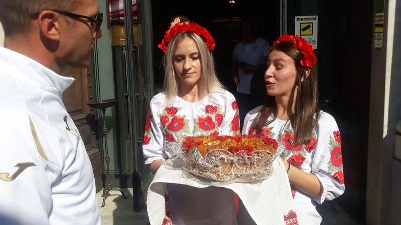 Sheva gets KARAVAY in Genova