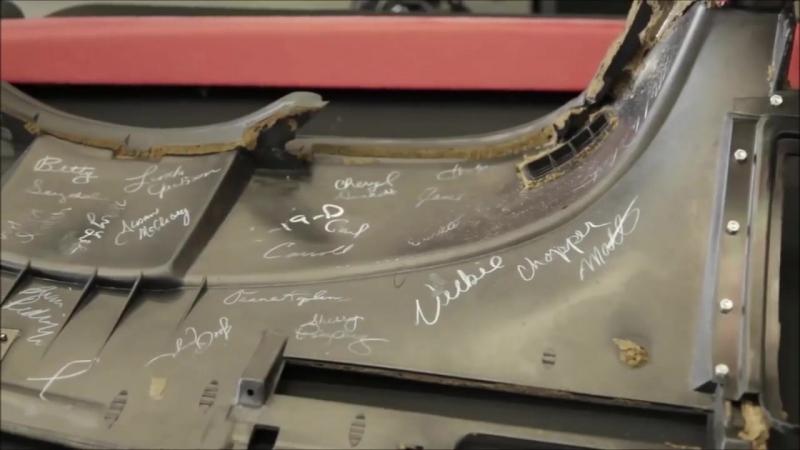 LowMileage Restoration of the 1 Millionth Sinkhole Destroyed Chevrolet Corvette
