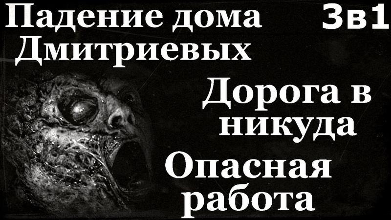 Истории на ночь (3в1): 1.Падение дома Дмитриевых, 2.Дорога в никуда, 3.Опасная работа