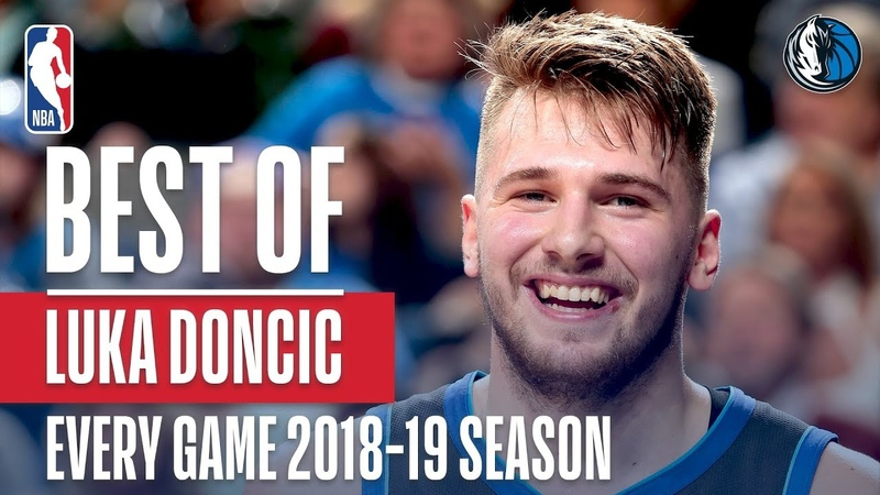 Luka Doncic's Best Play From Every Game Of The 2018-2019 Season NBANews NBA Mavericks LukaDoncic