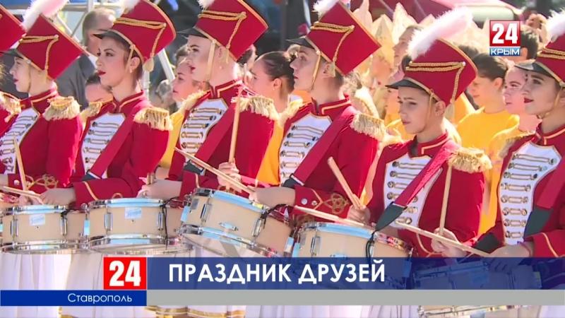 Глава Крыма Сергей Аксёнов находится с официальным визитом в Ставропольском крае