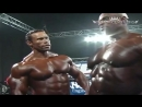Ronnie Coleman pumping up before Mr. Olympia - Biggest Bodybuilder Ever - RARE VIDEO
