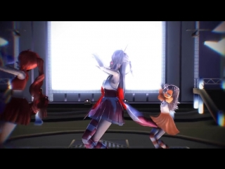 MMD Five Nights At Freddys Sister Location - Circus Of The Dead (Dance Mode)