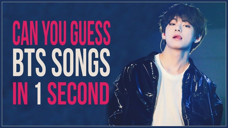 GUESS THE BTS SONG IN 1 SECOND    KPOP GAME
