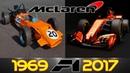MCLAREN F1 Evolution 1966-2017