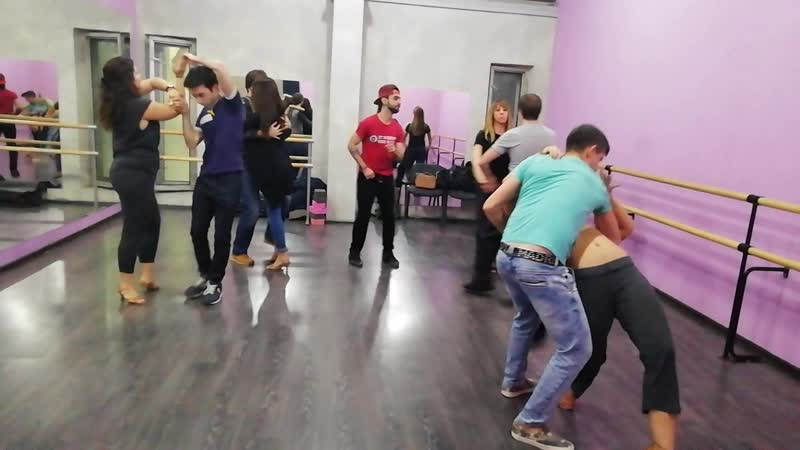 Бачата с Ismael Hidalgo, школа танцев Держи Ритм