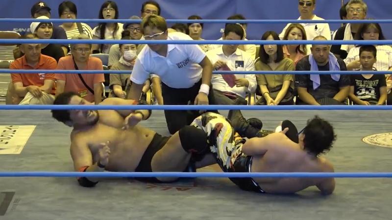 Shuji Ishikawa vs. TAJIRI (AJPW - Summer Action Series 2018 - Day 5)