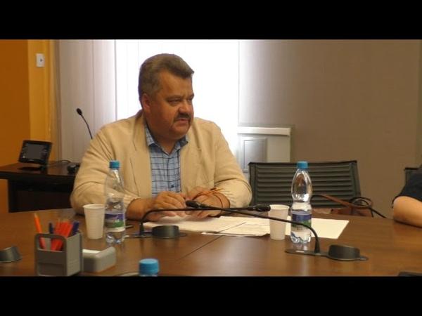 Встреча с генеральным директором АО «Монди Сыктывкарский ЛПК» Клаусом Пеллером