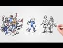 Мультфильм о пьянстве и трезвости Стадиях алкогольной зависимости