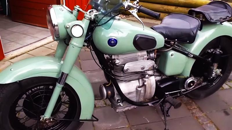 Мотоцикл Sunbeam S7 Deluxe, 1955 года