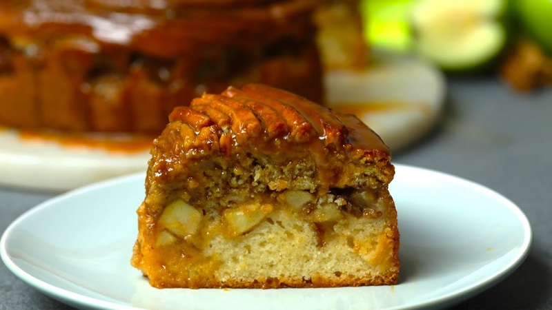 How To Make A Cinnamon Swirl Topped Apple Cake