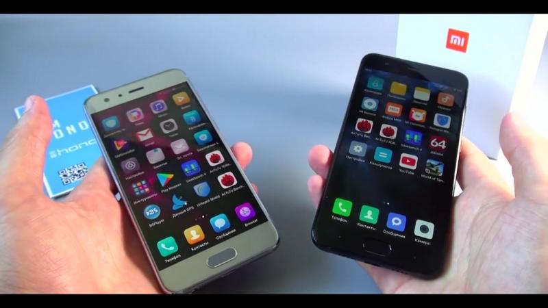[i-shoppers.net обзоры товаров] БАТТЛ хитов 2017: Xiaomi Mi6 VS Honor 9 - КТО КРУЧЕ? Сравнение смартфонов