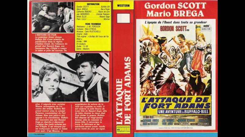 L' attaque du Fort Adams (El Heroe del Oeste) (1965) (Español)