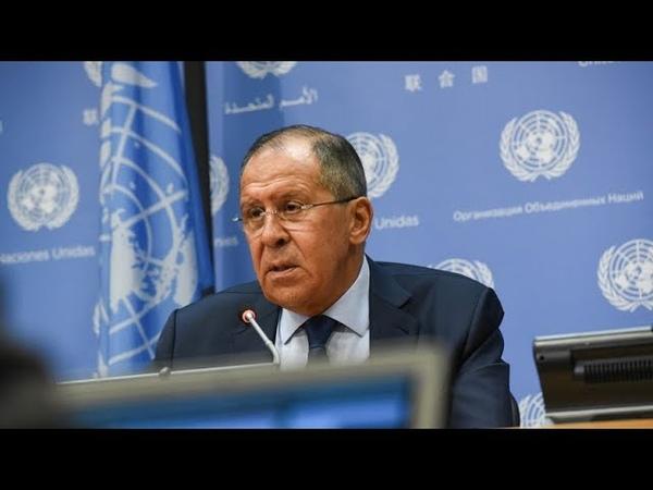 De Siria a Venezuela Los temas más importantes de la rueda de prensa de Lavrov