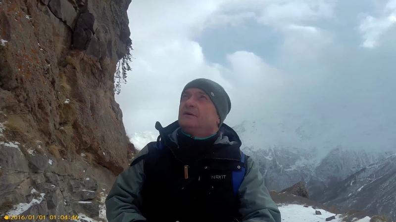 Выход к водопадам Эльбруса