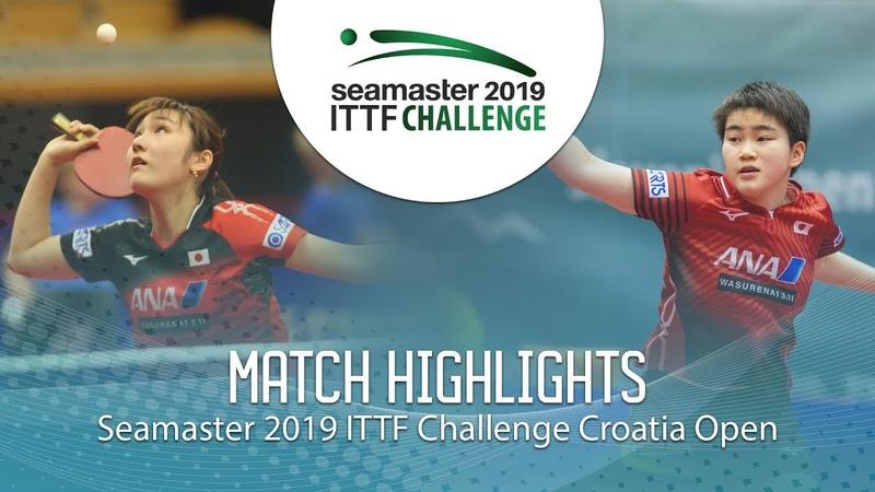 Odo Satsuki vs Kato Miyu | 2019 ITTF Challenge Croatia Open (12)