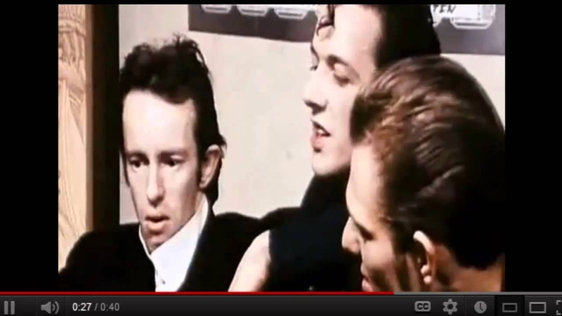 Joe Strummer defending Topper