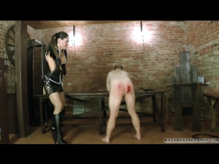 Madame sarka punishment till end serious caning.mp4