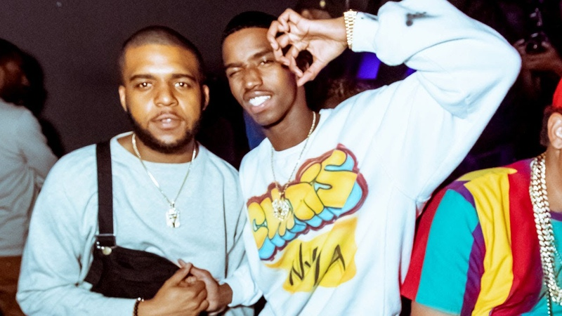 King Combs CJ Wallace Host Biggie 90s Party Powered By KING ICE