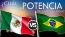 México vs Brasil ¿Cuál será el más poderoso de la región