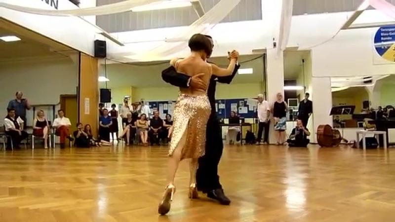Gustavo Rosas und Gisela Natoli beim 11. Bonner Tangofestival