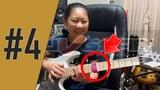 Зачем обматывать струны при игре соло! (обмотка для заглушки шума ненужных струн на гитаре)