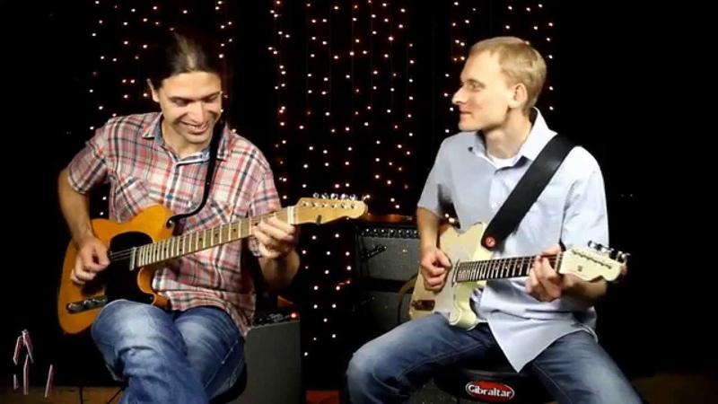 Михаил Виноградов и Дмитрий Шаров Guitar Boogie Школа рок музыки Красный Химик