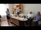 Гр. СССР вручили постановление В.С. СССР администрации Приморско-Ахтарского р-на со скандалом.