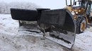 Schulte Henke FV - Folding Vee Blade plowing snow in the RM of LeRoy SK