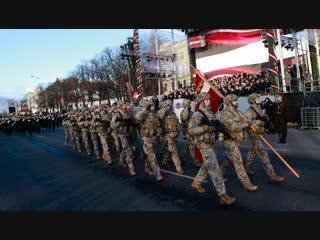Латвия отпраздновала свою независимость парадом войск НАТО