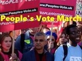 700000 londoners joined People's Vote March in London (20 October, 2018)