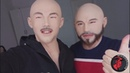 Male silicone mask:Two brothers wearing masks together.