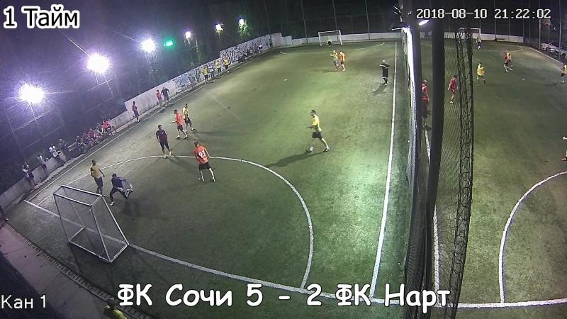 3 Высшая Лига 3 Фаил Сочи 6 - 2 Нарт 2
