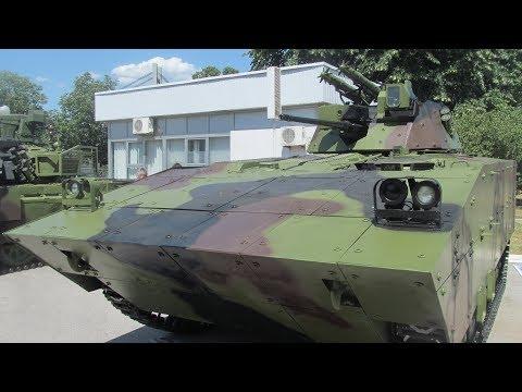 Novi srpski BVP M 80AB1 New Serbian tracked IFV M 80AB1