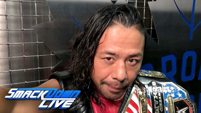 Shinsuke Nakamura refuses to compete on SmackDown LIVE: SmackDown Exclusive, Aug. 28, 2018