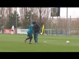 Тренировка Реал Мадрида