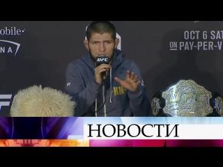 Хабиб Нурмагомедов извинился за свое поведение и потасовку после боя с Конором Макгрегором