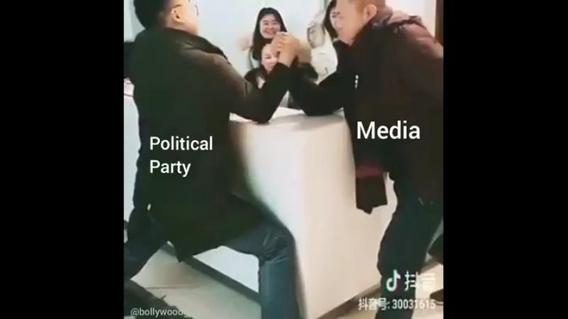 Politische Party... wie wahr wie wahr........