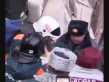 Спасение 10-месячного ребенка из-под завалов дома в Магнитогорске