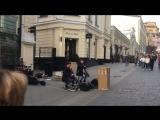 Музыка на улицах Москвы
