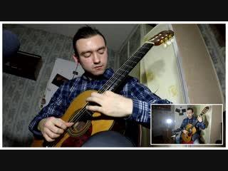 ВИА Спонтанный Ковёр - One (acoustic intro) (metallica cover)