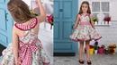 Vestido de flores REVISTA PATRONES INFANTILES Nº 9