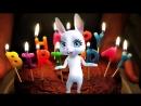 Скачать поздравительные открытки с днем рождения бесплатно. Видео открытки..mp4