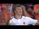 (HD) Нидерланды 1-3 Россия (1/4 ЕВРО 2008) с комментариями Черданцева