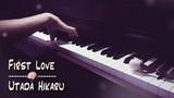 Utada Hikaru - First Love Relaxing Piano Zacky The Pianist