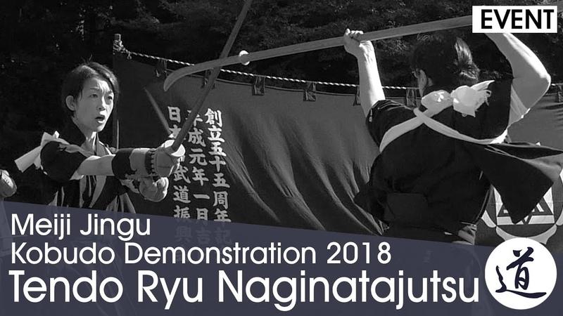 Tendo Ryu Naginata-jutsu - Kimura Yasuko - Meiji Jingu Kobudo Demonstration 2018