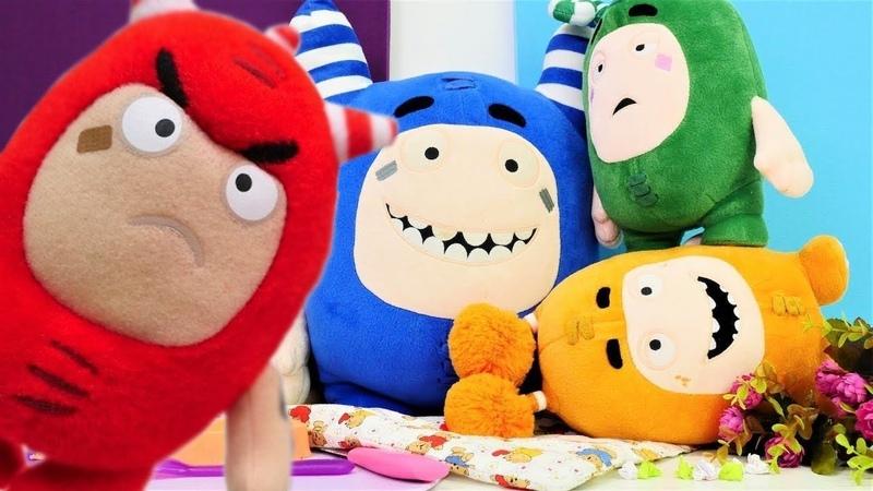 Die Oddbods auf Deutsch - Spielspaß mit den Oddbods Toys - 4 Kindervideos am Stück
