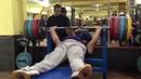Иранец Мансур Пурмирзай жмет лежа 280 кг. Некоторые ноги вверх, а здесь вынужден человек.