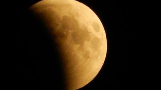 Лунное затмение века: как это было в Башкирии