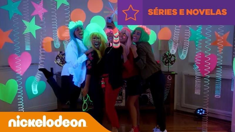 Kallys Mashup | Clipe La Vida Con Amigas | Brasil | Nickelodeon em Português